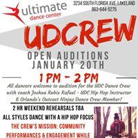 UDCrew Auditions