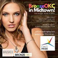 Bronze OKC gives back