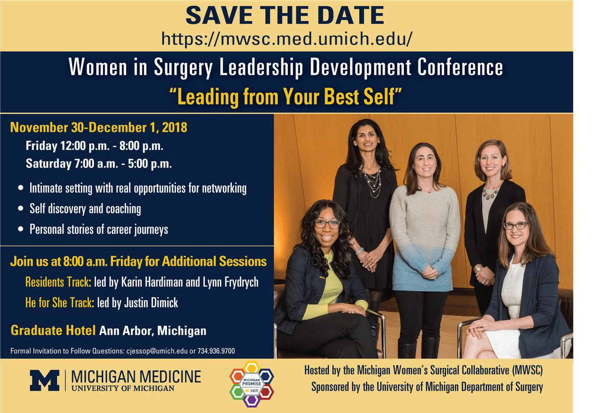 2018 Women in Surgery Leadership Development Conference at