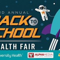 3rd Annual University Health Back to School Health Fair