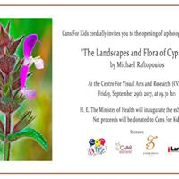 The Landscapes and Flora of Cyprus photography exhibition