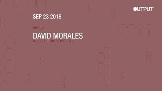 David Morales at Output