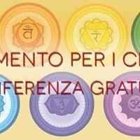 Conferenza gratuita nutrimento per i chakra