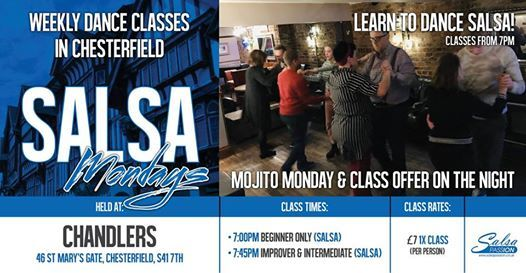 2019 - Mondays in Chesterfield Salsa with Salsa Passion UK