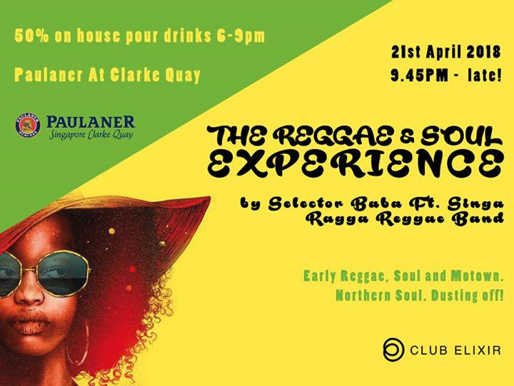 The Reggae & Soul Experience - Selector Baba