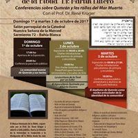 Expo Biblias y Charlas con el Dr. Ren Krger