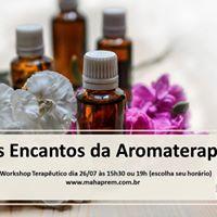 Os Encantos da Aromaterapia