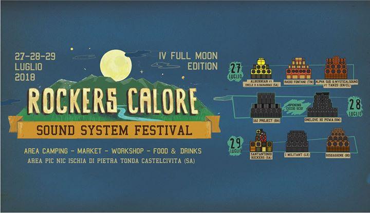 Rockers Calore Festival IV full moon ed.