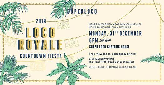 Loco Royale 2019 countdown fiesta