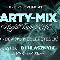 Party-mix Night Tour 2017 a Bombay-ben
