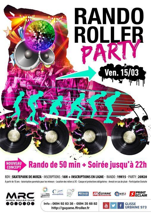 Rando Roller Party de Cayenne