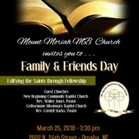 Family &amp Friends Day