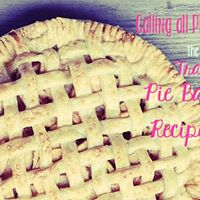Traditional Pie Bake-off and Recipe Swap