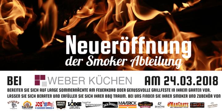Küchen Gifhorn neueröffnung der smoker abteilung bei weber küchen in gifhor at