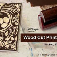 Wood Cut Print - Workshop