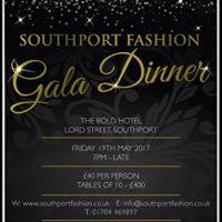 Southport Fashion Gala Dinner 2017
