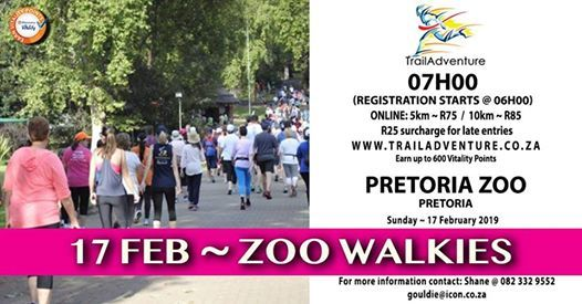 Zoo Walkies 10 & 5km