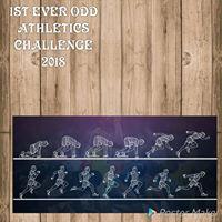 1st EVER ODD ATHLETICS CHALLENGE