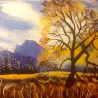 Paint Party &quotYosemite Fall&quot