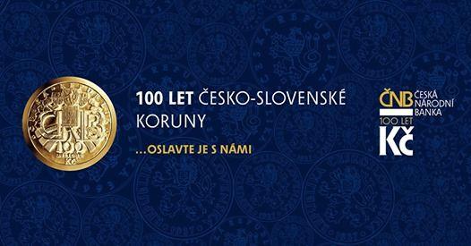 100 let esko-slovensk koruny