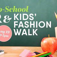 Back-to-School Fair &amp Kids Fashion Walk