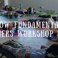 Beginners Workshop 4-Week Series
