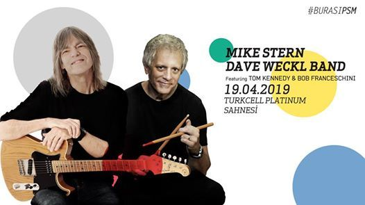 Mike SternDave Weckl Band feat. Tom Kennedy & Bob Franceschini