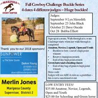 Cowboy Challenge Buckle Series