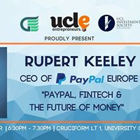 CEO of PayPal Europe Rupert Keeley