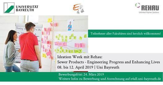 Ideation Week mit Rehau - Sewer Products