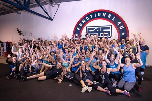 F45 NOARLUNGA February 2019 8 Week Challenge Open Day