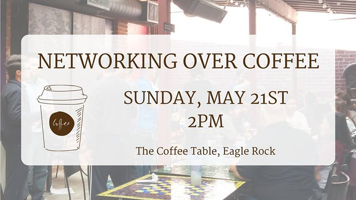 Networking over coffee for introverts at The Coffee Table Eagle