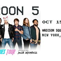 Maroon 5 Concert at Madison Square Garden in New York NY