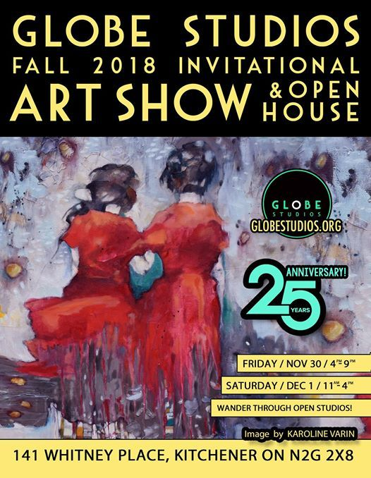 Globe Studios Fall 2018 Art Show & Open House
