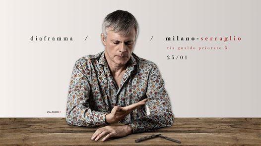 Diaframma  Presentazione Nuovo Disco  Milano  Serraglio
