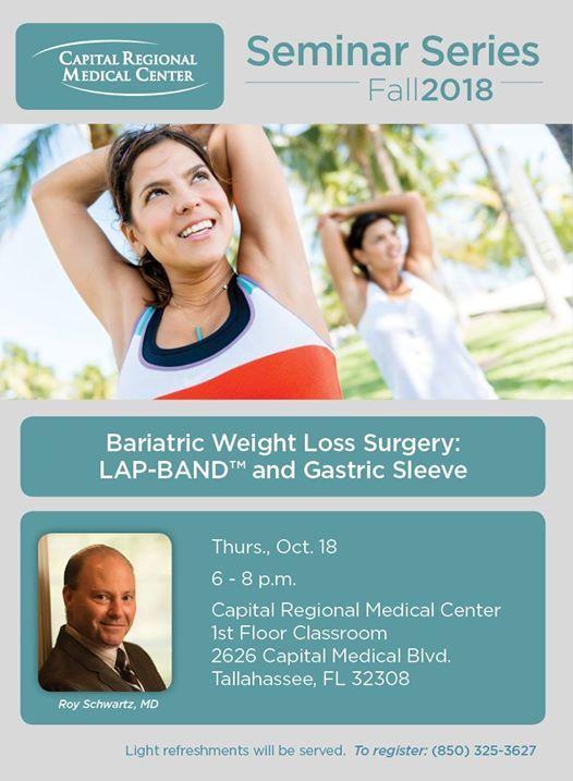 Bariatric Weight Loss Surgery Seminar At Capital Regional Medical
