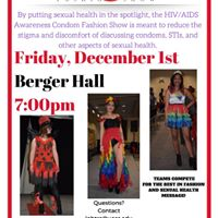 Sexual Health Awareness Condom Fashion Show