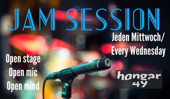 Free Jam Session - the open stage Berlin every Wednesday