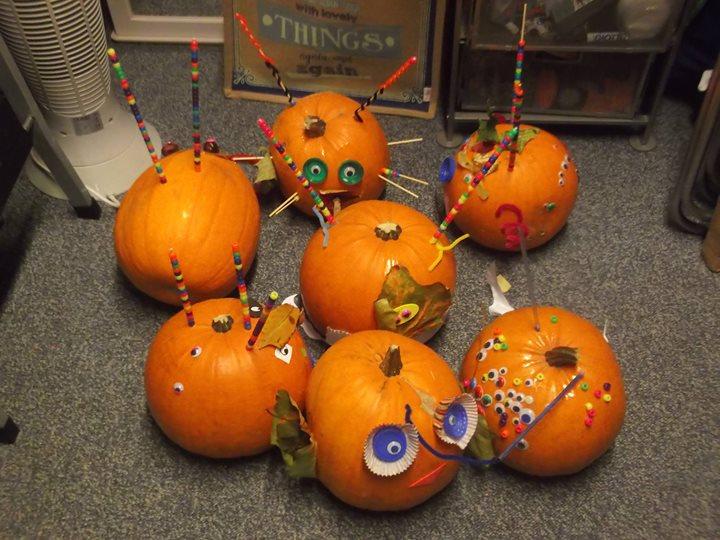 Longparish 21st Pumpkin competition