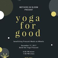 Yoga for Good with Prescott Mothers in Bloom