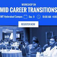 Workshop on Mid-Career Transitions