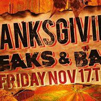 Thanksgiving Breaks &amp Bass