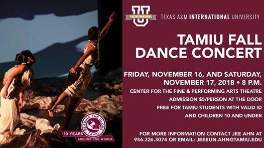 TAMIU Fall Dance Concert