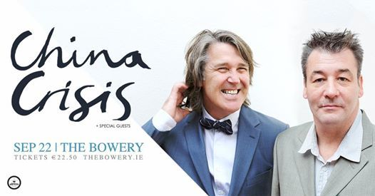 CHINA CRISIS live in Dublin