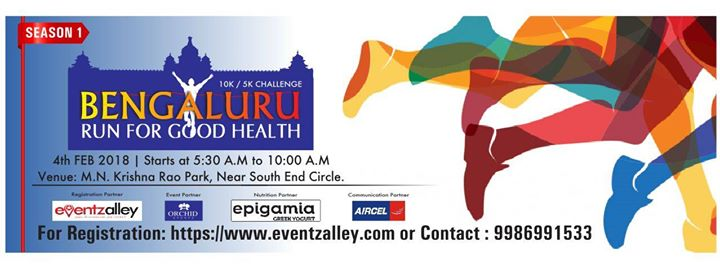 Bengaluru Run For Good Health 2018