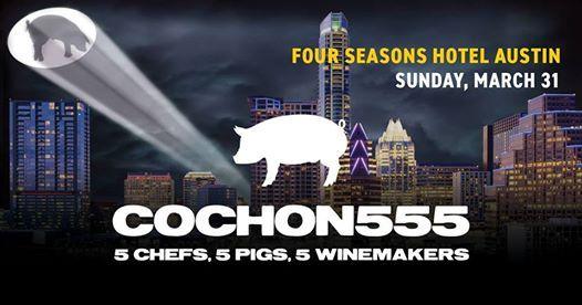 Cochon555 Chef Competition in Austin
