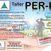 Taller Per-K en Valencia (El nico de este ao)