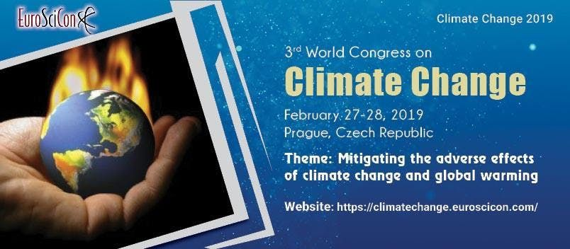3rd World Congress on Climate Change