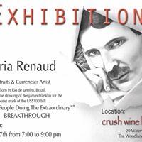 Breakthrough - An art exhibit featuring Maria Renaud
