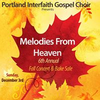 Melodies From Heaven. PIGC Fall Concert